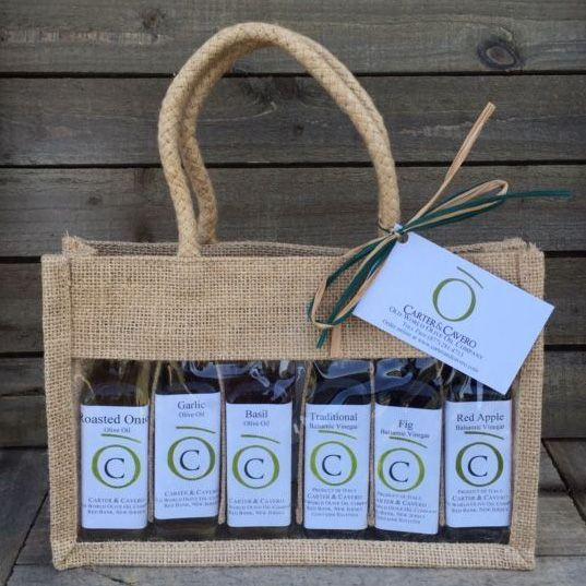 garden medley olive oil sampler