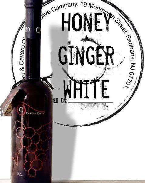 honey ginger white balsamic vinegar