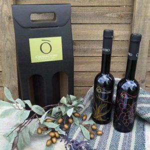 2 Bottle Gift Totes
