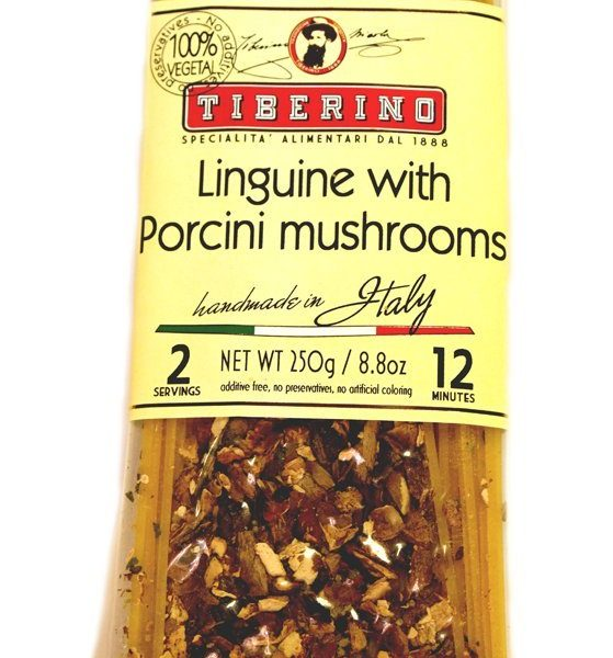 linguine with porcini mushrooms