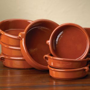 Cazuelas (Traditional Terra Cotta Cookware from Spain)