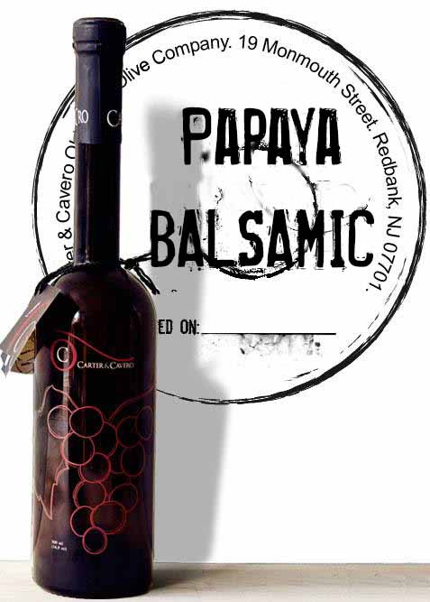 papaya balsamic vinegar